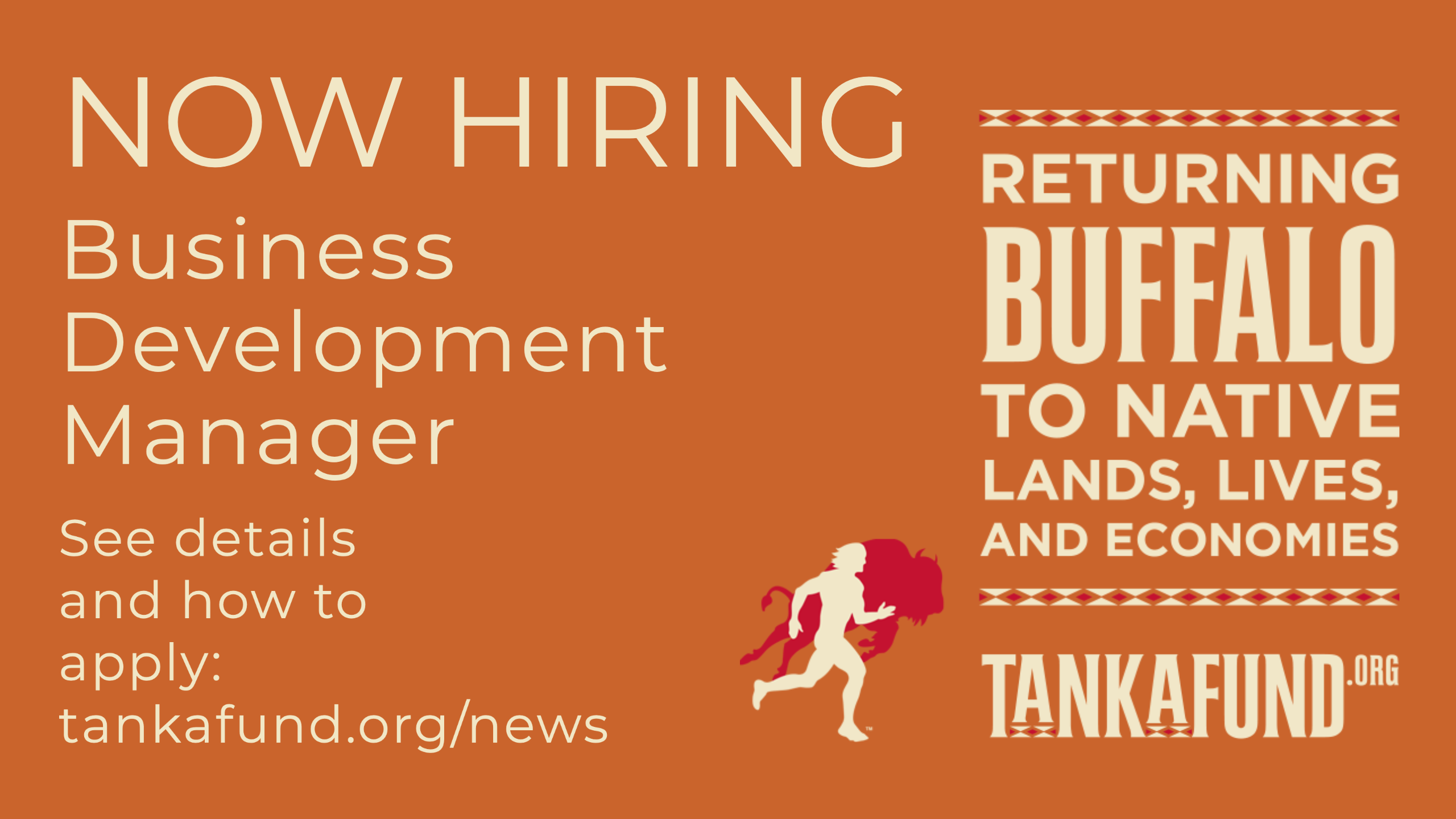 Job Opening at Tanka Fund: Business Development Manager